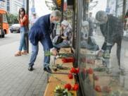 Александр Гусев на месте трагедии.