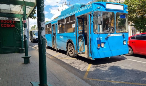 Троллейбусы заменят автобусами.