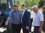 Вадим Кстенин на месте коммунального ЧП.