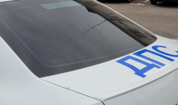 Нарушителя поймали инспекторы ДПС.