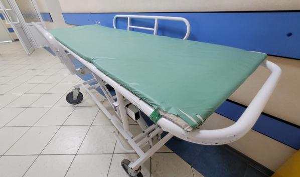 Воронежец попал в больницу.