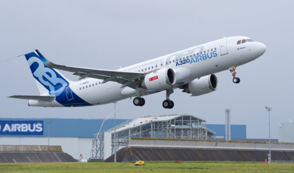 Airbus A320neo.