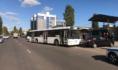 Авария с автобусом в Воронеже.