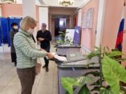 Воронежцы голосуют на выборах в Госдуму.