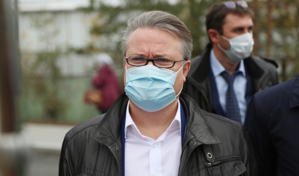 Мэр Вадим Кстенин.