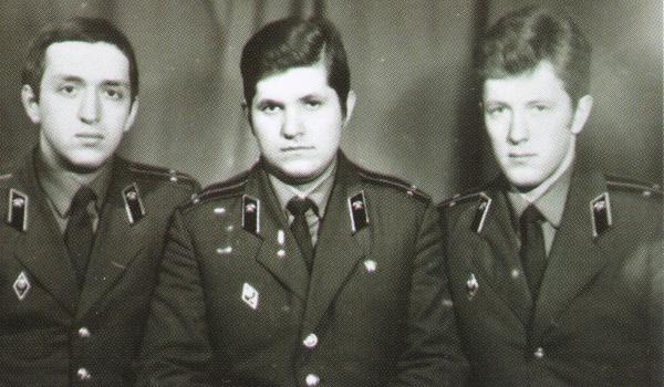 Алексей Гордеев в армии.