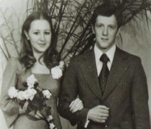 Бракосочетание, 1979 год.