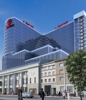 Отель Marriott  в Воронеже.